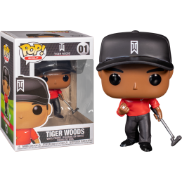 FUNKO FUNKO POP! - TIGER WOODS RED SHIRT BOBBLE HEAD KNOCKER FIGURE