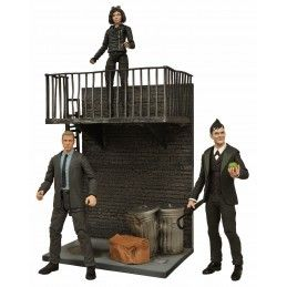 GOTHAM SELECT SET DI 3 ACTION FIGURES DIAMOND SELECT