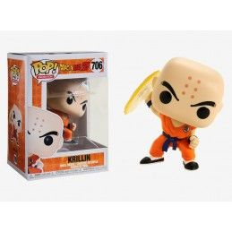 FUNKO POP! DRAGON BALL Z - KRILLIN DESTRUCTION DISC BOBBLE HEAD KNOCKER FIGURE FUNKO