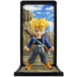 DRAGON BALL Z BANDAI SUPER SAIYAN TRUNKS TAMASHII BUDDIES 9CM ACTION FIGURE