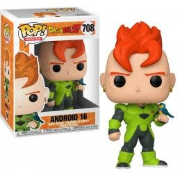FUNKO POP! DRAGON BALL Z - ANDROID 16 BOBBLE HEAD KNOCKER FIGURE FUNKO