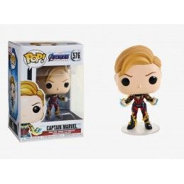 FUNKO POP! AVENGERS ENDGAME - CAPTAIN MARVEL BOBBLE HEAD FIGURE FUNKO