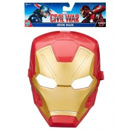 CAPTAIN AMERICA 3 CIVIL WAR - IRON MAN MASK (MASCHERA) HASBRO
