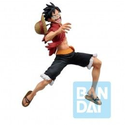 BANDAI ONE PIECE ICHIBANSHO PVC GREAT BANQUET MONKEY D. LUFFY STATUE 18CM FIGURE