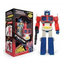 TRANSFORMERS SUPER CYBORG OPTIMUS PRIME 30 CM ACTION FIGURE SUPER7