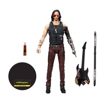 CYBERPUNK 2077 - JOHNNY SILVERHAND 18CM ACTION FIGURE