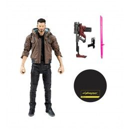 CYBERPUNK 2077 - MALE V 18CM ACTION FIGURE MC FARLANE