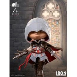 IRON STUDIOS ASSASSIN'S CREED II MINICO EZIO AUDITORE FIGURE 14 CM STATUE