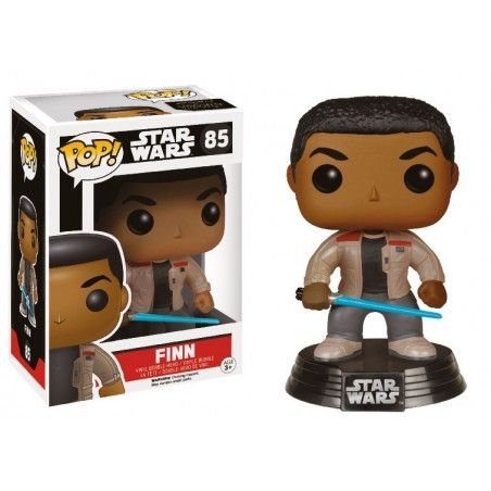 FUNKO POP STAR WARS - FINN WITH LIGHTSABER BOBBLE HEAD KNOCKER FIGURE