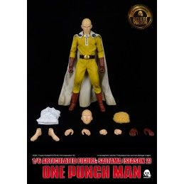 THREEZERO ONE-PUNCH MAN - SAITAMA DELUXE VERSION 1/6 30CM ACTION FIGURE