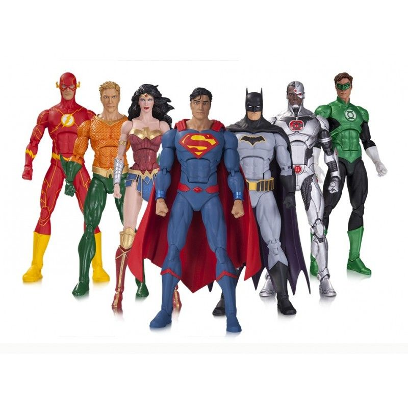 DC ICONS REBIRTH JUSTICE LEAGUE AQUAMAN (NO BLISTER) ACTION FIGURE DC COLLECTIBLES