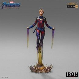 AVENGERS ENDGAME - CAPTAIN MARVEL BDS ART SCALE 1/10 STATUE FIGURE IRON STUDIOS