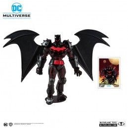 DC MULTIVERSE - BATMAN AND ROBIN BATMAN (HELLBAT SUIT) 18CM ACTION FIGURE MC FARLANE