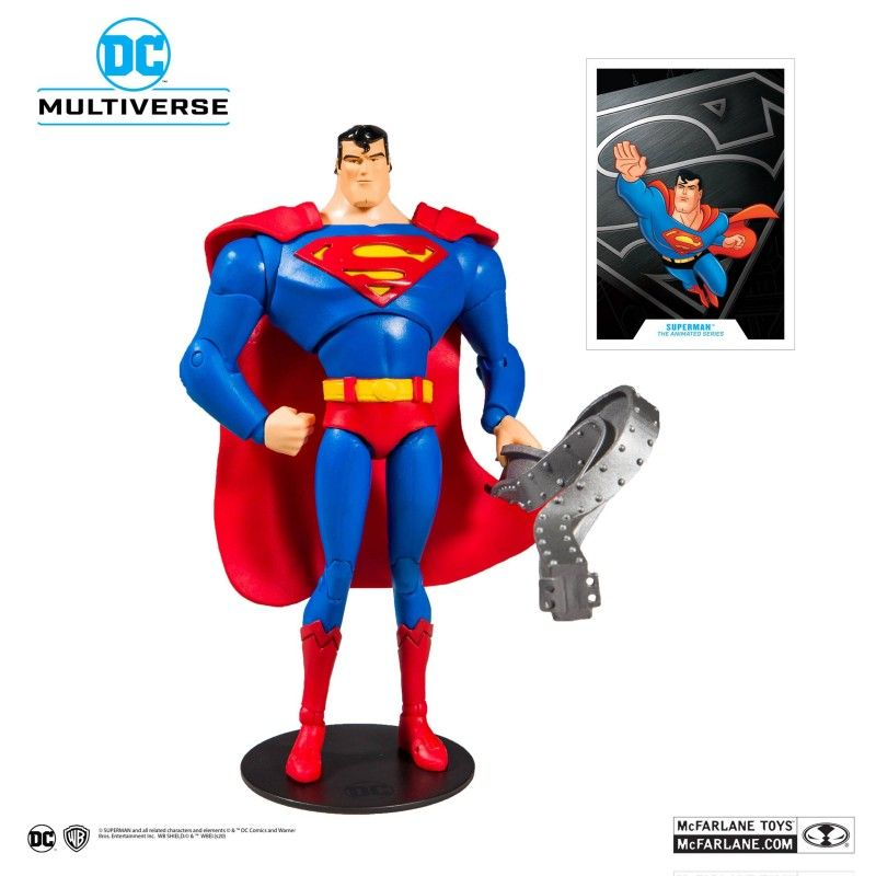 Batman V Superman Mighty minis série 1 Superman Man of Steel Rouge /& Bleu Figure