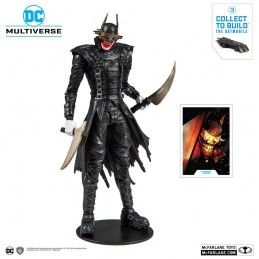 DC MULTIVERSE - DARK NIGHTS METAL - THE BATMAN WHO LAUGHS 18CM ACTION FIGURE MC FARLANE