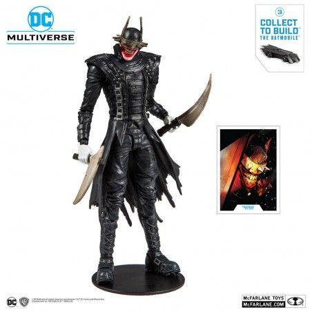 DC MULTIVERSE DARK NIGHTS METAL THE BATMAN WHO LAUGHS ACTION FIGURE