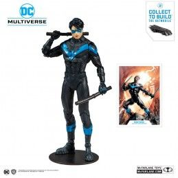 DC MULTIVERSE - NIGHTWING 18CM ACTION FIGURE MC FARLANE