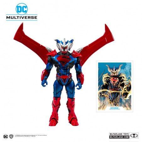 DC MULTIVERSE - SUPERMAN UNCHAINED ARMOR 18CM ACTION FIGURE
