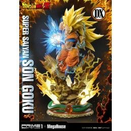 PRIME 1 STUDIO DRAGON BALL Z - SUPER SAIYAN SON GOKU DELUXE VERSION 64 CM RESIN STATUE FIGURE
