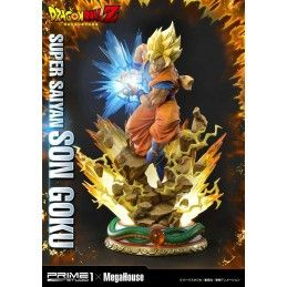 DRAGON BALL Z - SUPER SAIYAN SON GOKU 64 CM RESIN STATUE FIGURE PRIME 1 STUDIO