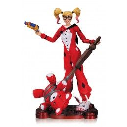 DC COLLECTIBLES DC COMICS INFINITE CRISIS - PAJAMA PARTY HARLEY QUINN ACTION FIGURE
