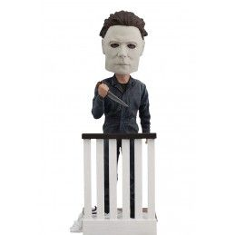 ROYAL BOBBLES MICHAEL MYERS HALLOWEEN HEADKNOCKER BOBBLE HEAD FIGURE