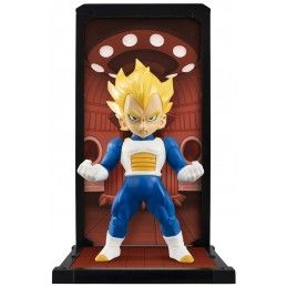 DRAGON BALL Z BANDAI SUPER SAIYAN VEGETA TAMASHII BUDDIES 9CM MINI FIGURE BANDAI