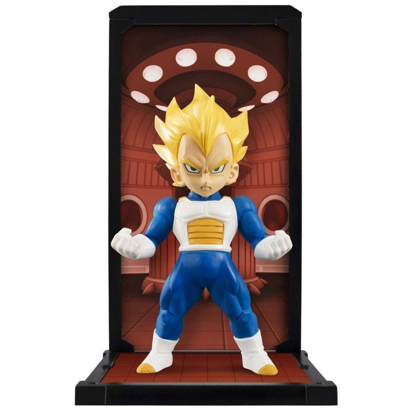 DRAGON BALL Z BANDAI SUPER SAIYAN VEGETA TAMASHII BUDDIES 9CM ACTION FIGURE