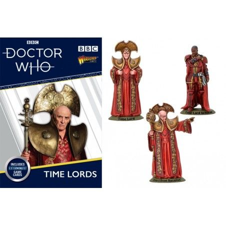 DOCTOR WHO TIME LORDS MINIATURES SET FIGURE