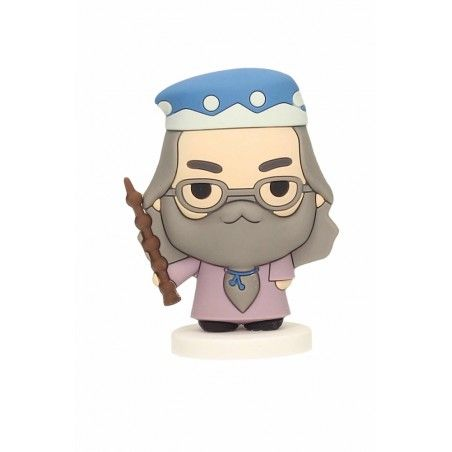HARRY POTTER DUMBLEDORE ALBUS SILENTE RUBBER MINI FIGURE