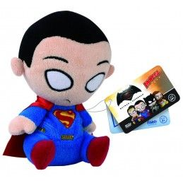BATMAN V SUPERMAN - PUPAZZO PELUCHE SUPERMAN 12CM PLUSH FIGURE FUNKO