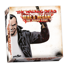 THE WALKING DEAD - HERE'S NEGAN THE BOARD GAME - GIOCO DA TAVOLO MANTIC