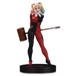 DC COVER GIRLS HARLEY QUINN BY FRANK CHO 25CM RESIN STATUE FIGURE DC COLLECTIBLES