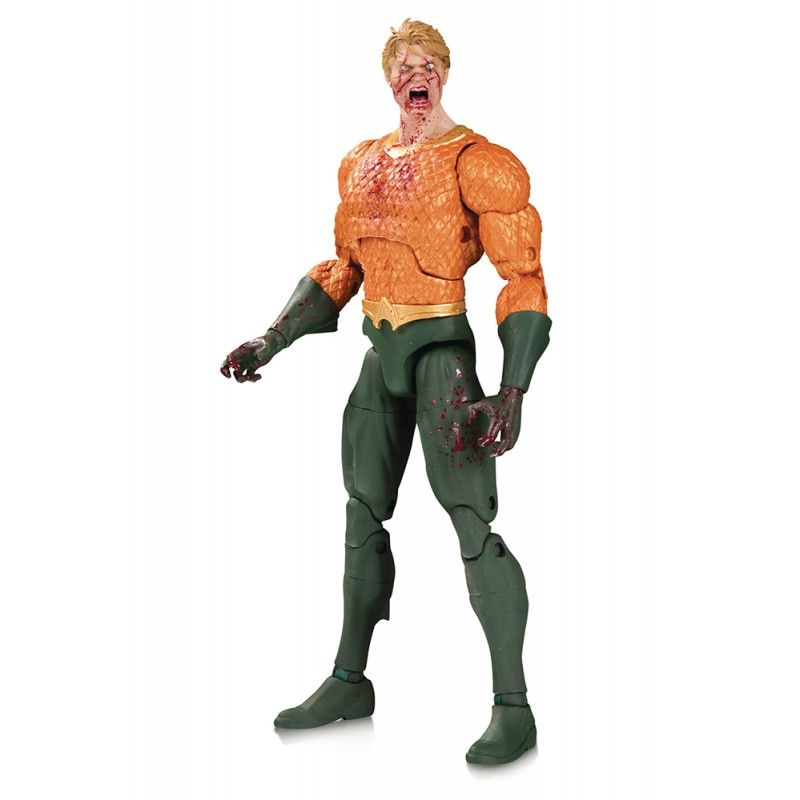DC ESSENTIALS DCEASED AQUAMAN ACTION FIGURE DC COLLECTIBLES
