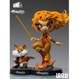 THUNDERCATS MINICO CHEETARA AND SNARF FIGURE 14CM STATUE IRON STUDIOS