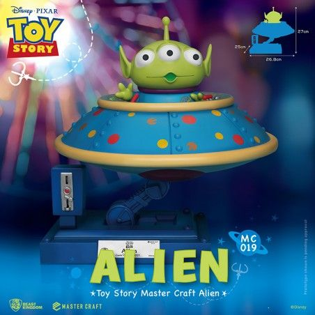 TOY STORY MASTER CRAFT ALIEN STATUE RESIN FIGURE 25CM