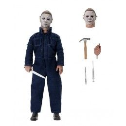 HALLOWEEN 2 - MICHAEL MYERS CLOTHED ACTION FIGURE NECA