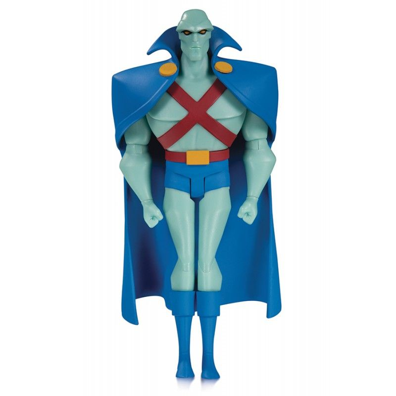 JUSTICE LEAGUE ANIMATED MARTIAN MANHUNTER ACTION FIGURE DC COLLECTIBLES