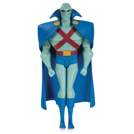 JUSTICE LEAGUE ANIMATED MARTIAN MANHUNTER ACTION FIGURE