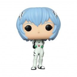 FUNKO POP! EVANGELION REI AYANAMI BOBBLE HEAD KNOCKER FIGURE FUNKO