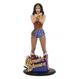 DIAMOND SELECT DC GALLERY - WONDER WOMAN LINDA CARTER STATUE 25CM FIGURE