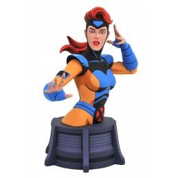 DIAMOND SELECT MARVEL COMICS ANIMATED SERIES X-MEN JEAN GREY BUST STATUE 15CM RESIN FIGURE