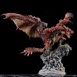 CAPCOM MONSTER HUNTER - RATHALOS FIGURE BUILDER CREATORS MODEL 21CM STATUE FIGURE