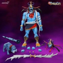 THUNDERCATS ULTIMATES - MUMM-RA AND MA-MUTT 5 18 CM ACTION FIGURE SUPER7