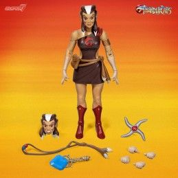 THUNDERCATS ULTIMATES - PUMRYA THE HEALER 18 CM ACTION FIGURE SUPER7