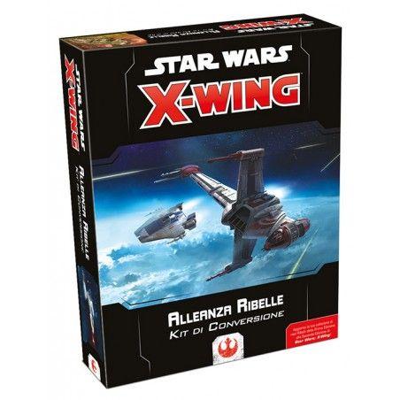 STAR WARS X-WING ALLEANZA RIBELLE KIT DI CONVERSIONE - GIOCO DA TAVOLO ITALIANO