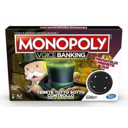 MONOPOLY VOICE BANKING - GIOCO DA TAVOLO ITALIANO HASBRO