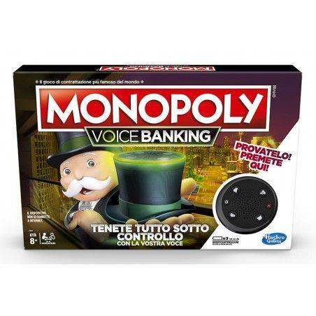 MONOPOLY VOICE BANKING - GIOCO DA TAVOLO ITALIANO