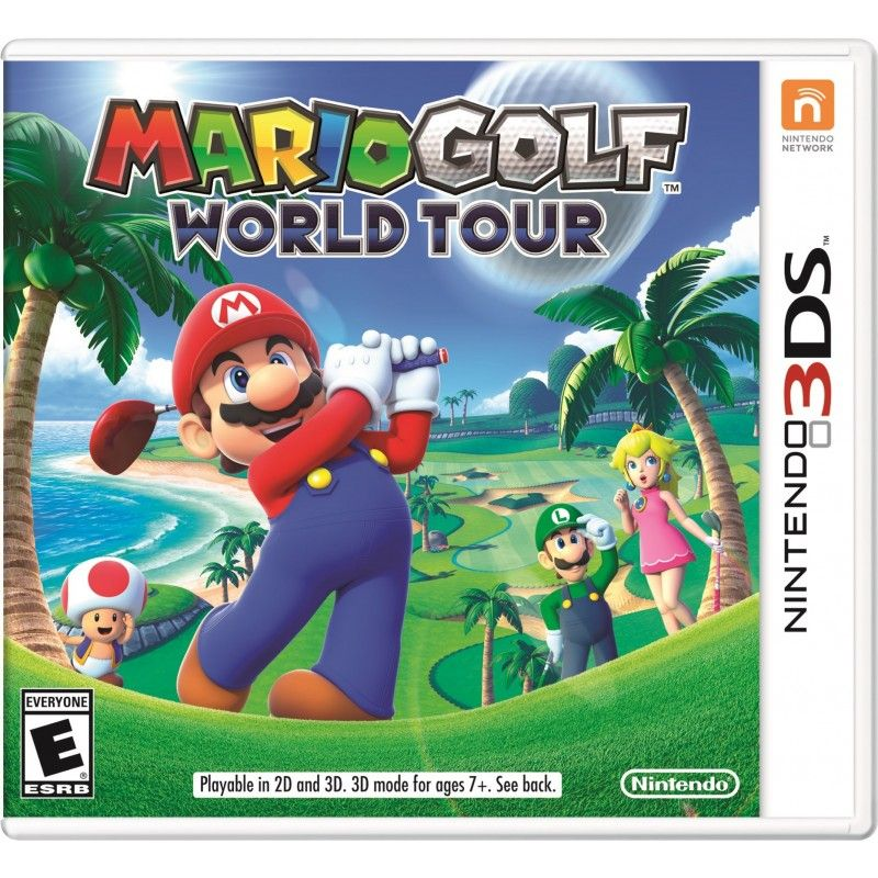 MARIO GOLF WORLD TOUR 3DS NUOVO ITALIANO