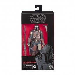 STAR WARS THE BLACK SERIES - THE MANDALORIAN ACTION FIGURE HASBRO